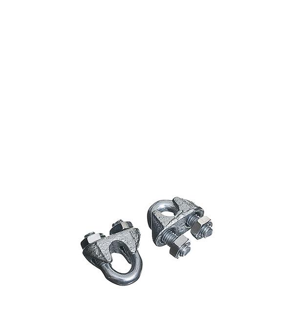 Зажим троса дугообразный 3 мм DIN 741 (2 шт) ключ разводной хромированный truper 20 3 см