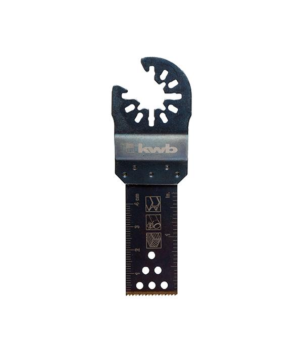 Пильное полотно по металлу KWB Стандарт 22 мм для МФУ пильное полотно по дереву kwb стандарт 25 мм для мфу