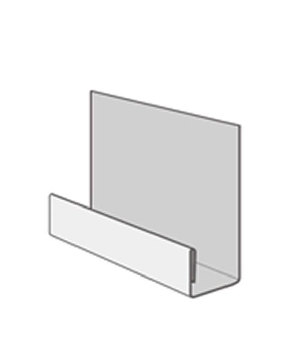 Фасадный стартовый профиль DOCKE-R 2000 мм