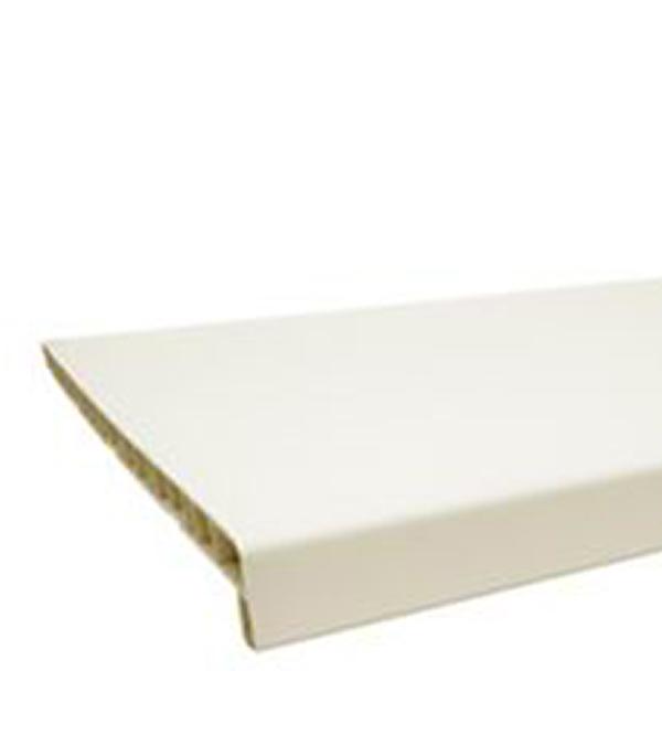 Подоконник пластиковый BRUSBOX  400x3000 белый  матовый