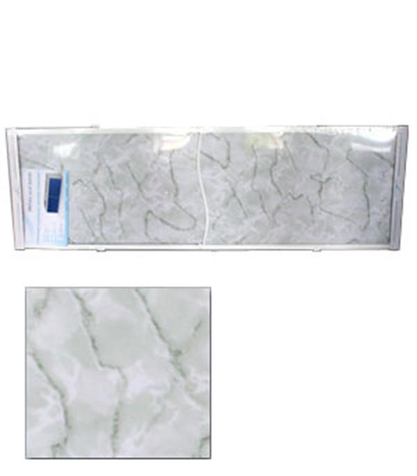 Экран для ванн Оптима пластик зеленый мрамор 1500 мм