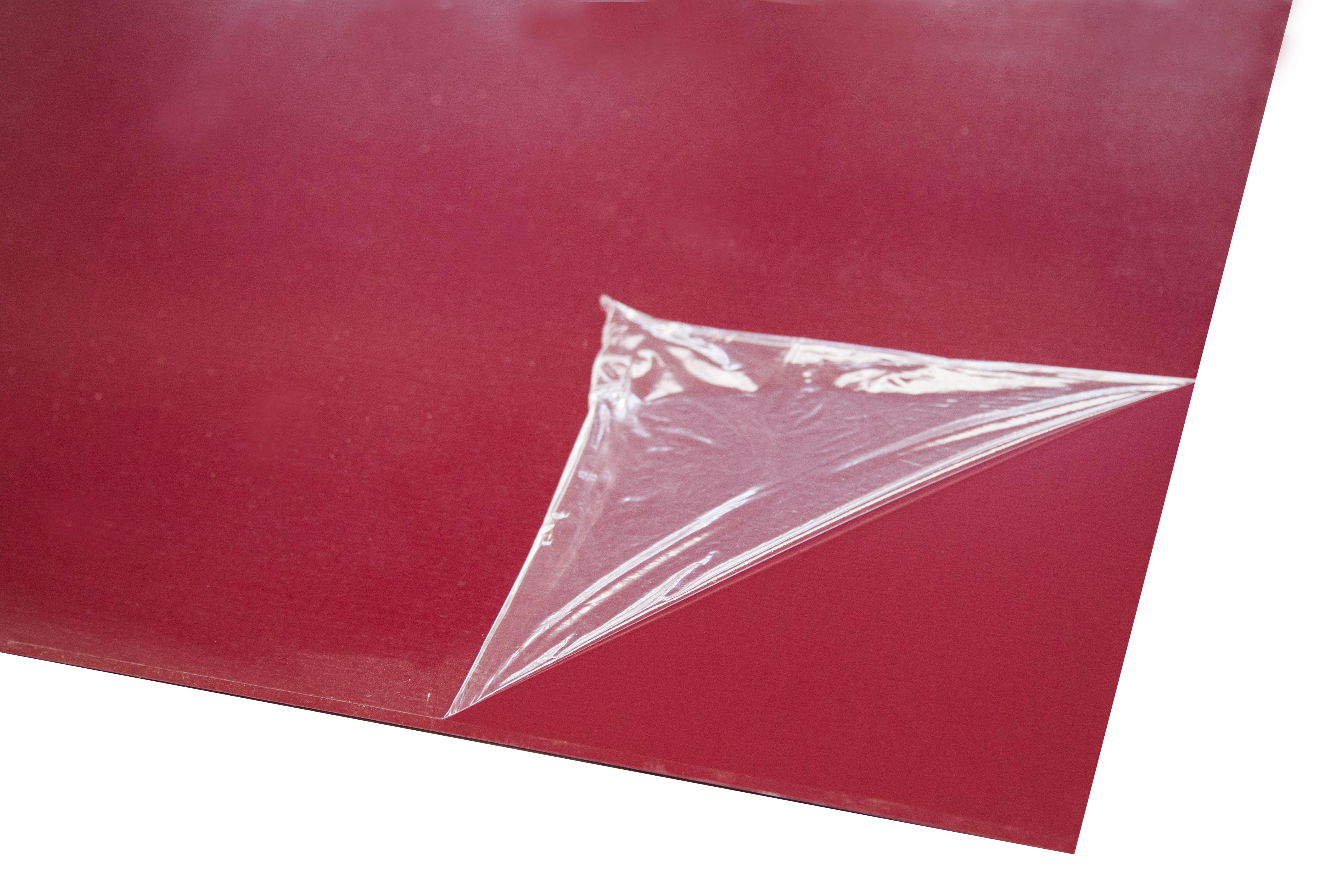Лист оцинкованный 1250х2000х0,37 мм красное вино RAL 3005