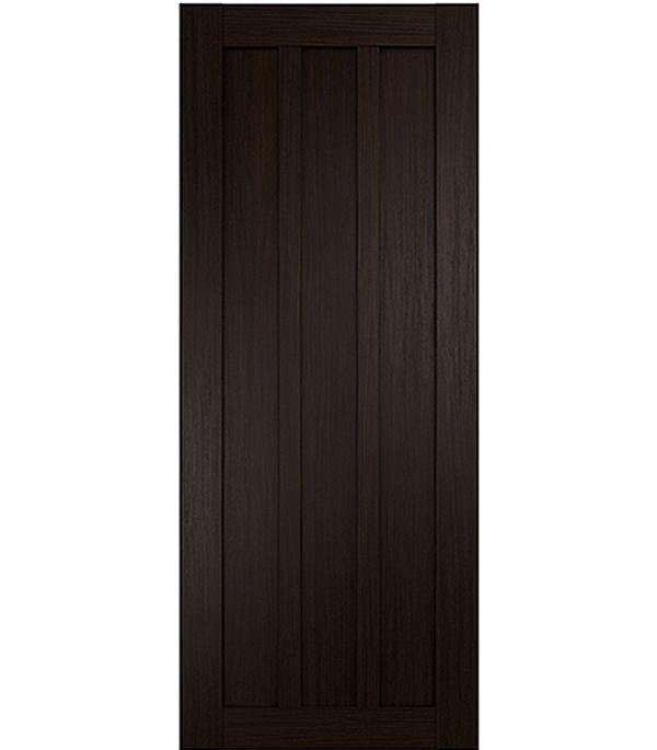 Дверное полотно экошпон Интери 3-0 Венге 900х2000 мм без притвора дверная ручка банан где в санкт петербурге
