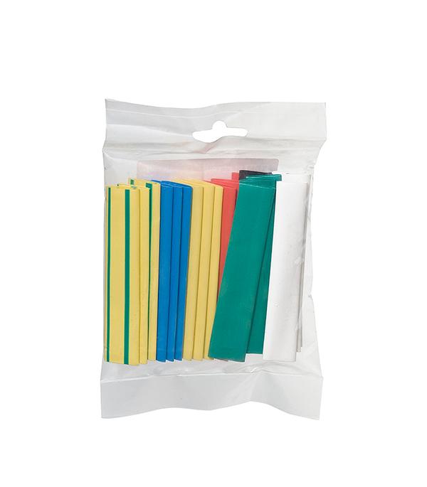 Термоусадочная трубка ТУТ 6/3 набор 7 цветов по (3 шт) 100 мм