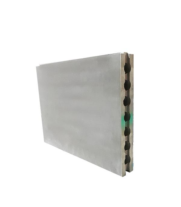Пазогребневая плита 667х500х80 мм Волма Гидро (пустотелая)