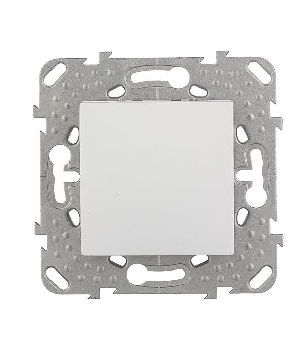 Механизм переключателя одноклавишного, проходного с/у Schneider Electric Unica белый