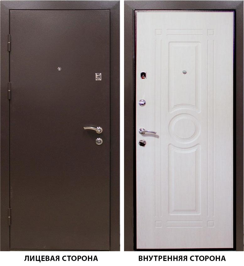 Дверь металлическая   Тонус 300  960x2050 мм левая
