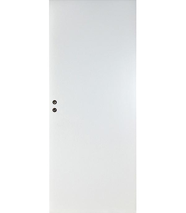 Дверное полотно VELLDORIS белое гладкое глухое М8х21 745х2050 мм с притвором  цена и фото