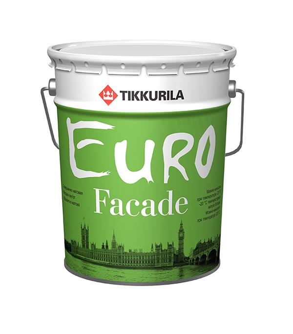 Краска фасадная Euro Facade основа КА глубокоматовая Тиккурила 18 л