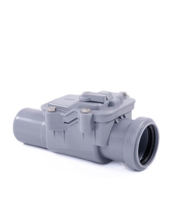 Клапан обратный канализационный внутренний 50 мм, РТП клапан обратный канализационный наружный 110 мм