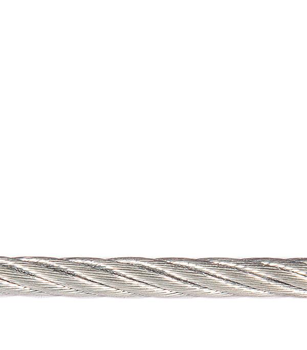 Трос стальной оцинкованный d5 мм DIN 3055 (20 м)