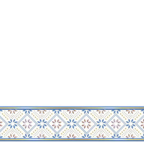 Плитка бордюр Валенсия G1 Люкс 500х75х8мм синяя плитка вкз лаура зеленая в спб