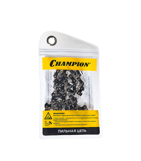 Цепь 14 - шаг 3/8 паз 1,1 звеньев 52 Champion газонокосилка бензиновая champion lm5127bs