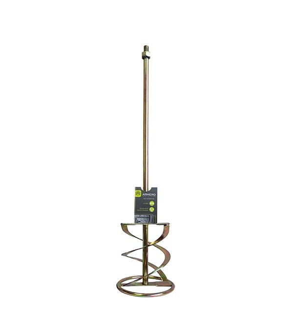 Миксер-насадка для цементных растворов 140х600 мм с резьбой М14, 1 шт Armero