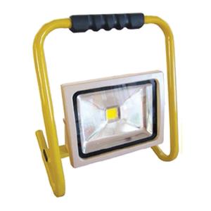 Прожектор cветодиодный  20 Вт, переносной, 6500K (холодный свет), серый
