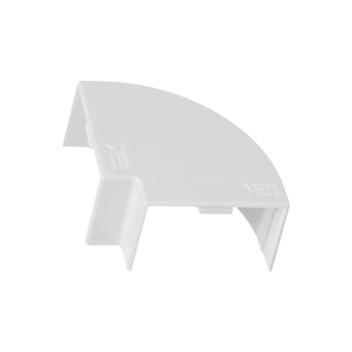 Угол плоский для кабель-канала 40x25 мм белый (4 шт.)