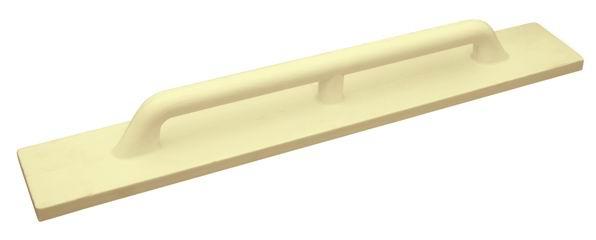 Полутерок 120х800 мм полиуретановый желтый Профи
