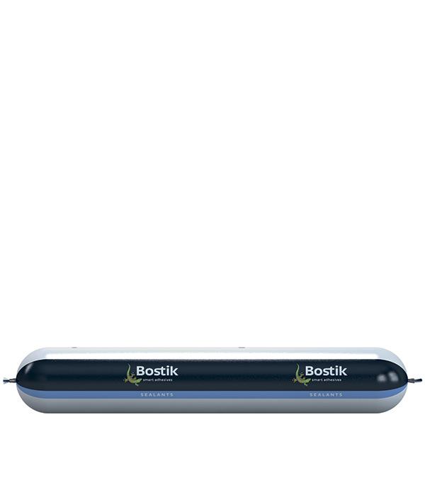 Герметик полиуретановый Bostik PU 2637 600 мл светло-серый клей для паркета bostik tarbicol pu 2k 10 кг
