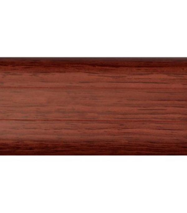 Плинтус с к/к и  мягким краем махагон 137, 54х21х2500 мм Rico Leo