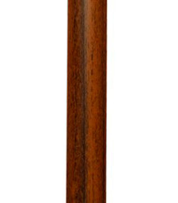 Галтель (штапик) 10х10х2750 мм орех